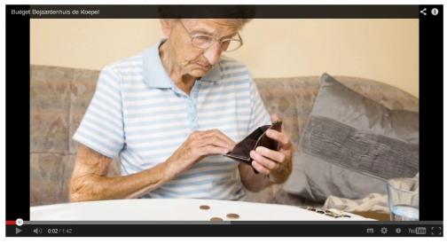 Begin YouTubefilm Budget Bejaardenhuis